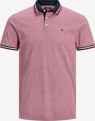 JACK & JONES Poloshirt in rotmeliert, Produktansicht