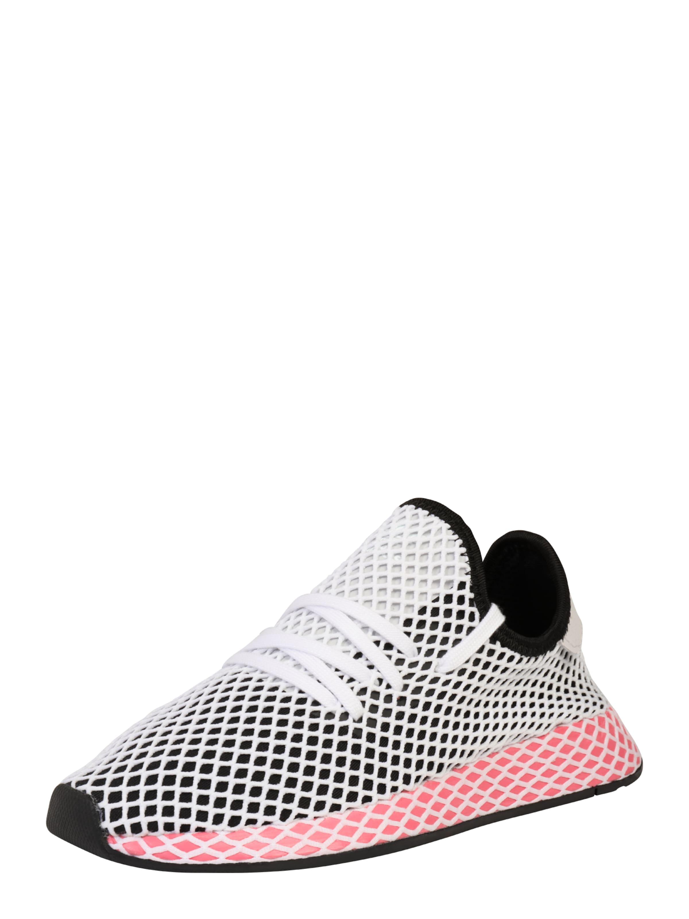 Adidas Originals Sneakers Couche Rouge Runner Deerupt / Noir / Blanc KpxaC