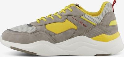 TOM TAILOR Sneaker in beige / gelb / grau / blutrot / weiß, Produktansicht