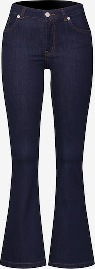 WHY7 Jeans 'NW FLARE' in blue denim, Produktansicht