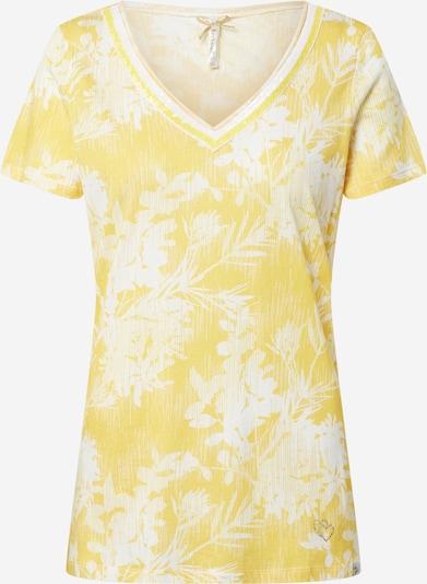 Key Largo Shirt in gelb / offwhite, Produktansicht