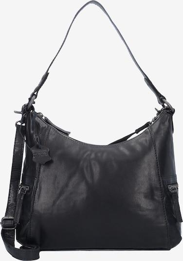 Spikes & Sparrow Schultertasche in schwarz, Produktansicht