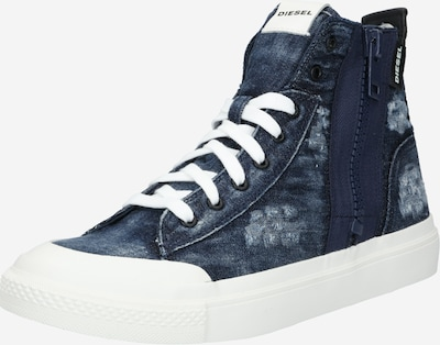 DIESEL Sneakers hoog 'ASTICO'' in de kleur Indigo / Wit, Productweergave