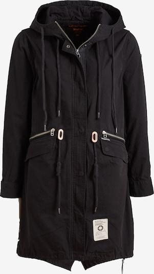 khujo Mantel 'Nanda' in schwarz, Produktansicht