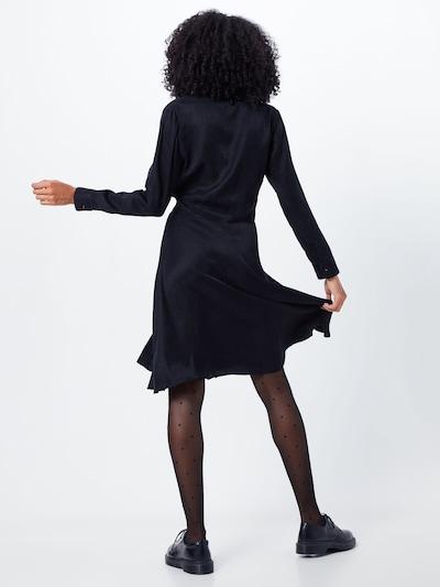Palaidinės tipo suknelė 'Augusta' iš NORR , spalva - juoda: Vaizdas iš galinės pusės