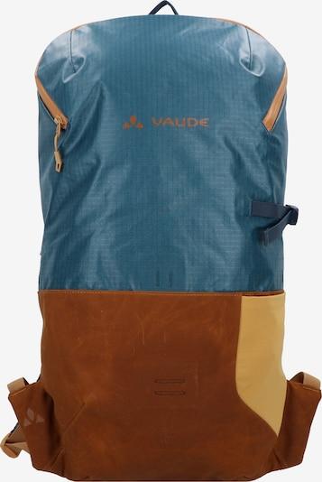 VAUDE Rucksack 'CityGo' in himmelblau / ocker, Produktansicht