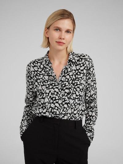 EDITED Bluse 'Jules' in schwarz, Modelansicht