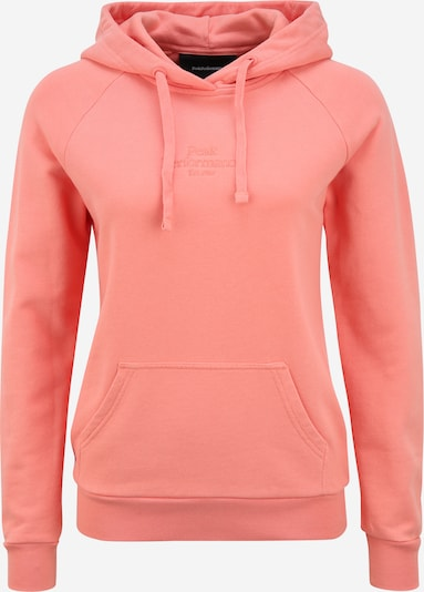 PEAK PERFORMANCE Sweat de sport 'Original Light' en orange, Vue avec produit