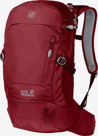 JACK WOLFSKIN Sac à dos de sport 'Helix' en rouge foncé, Vue avec produit