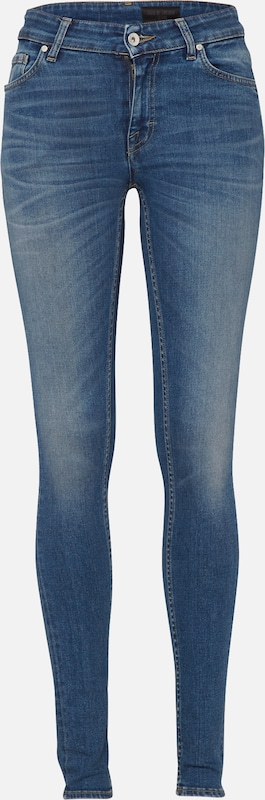 Tiger of Sweden Jeans 'Slight' in de kleur Blauw denim, Productweergave