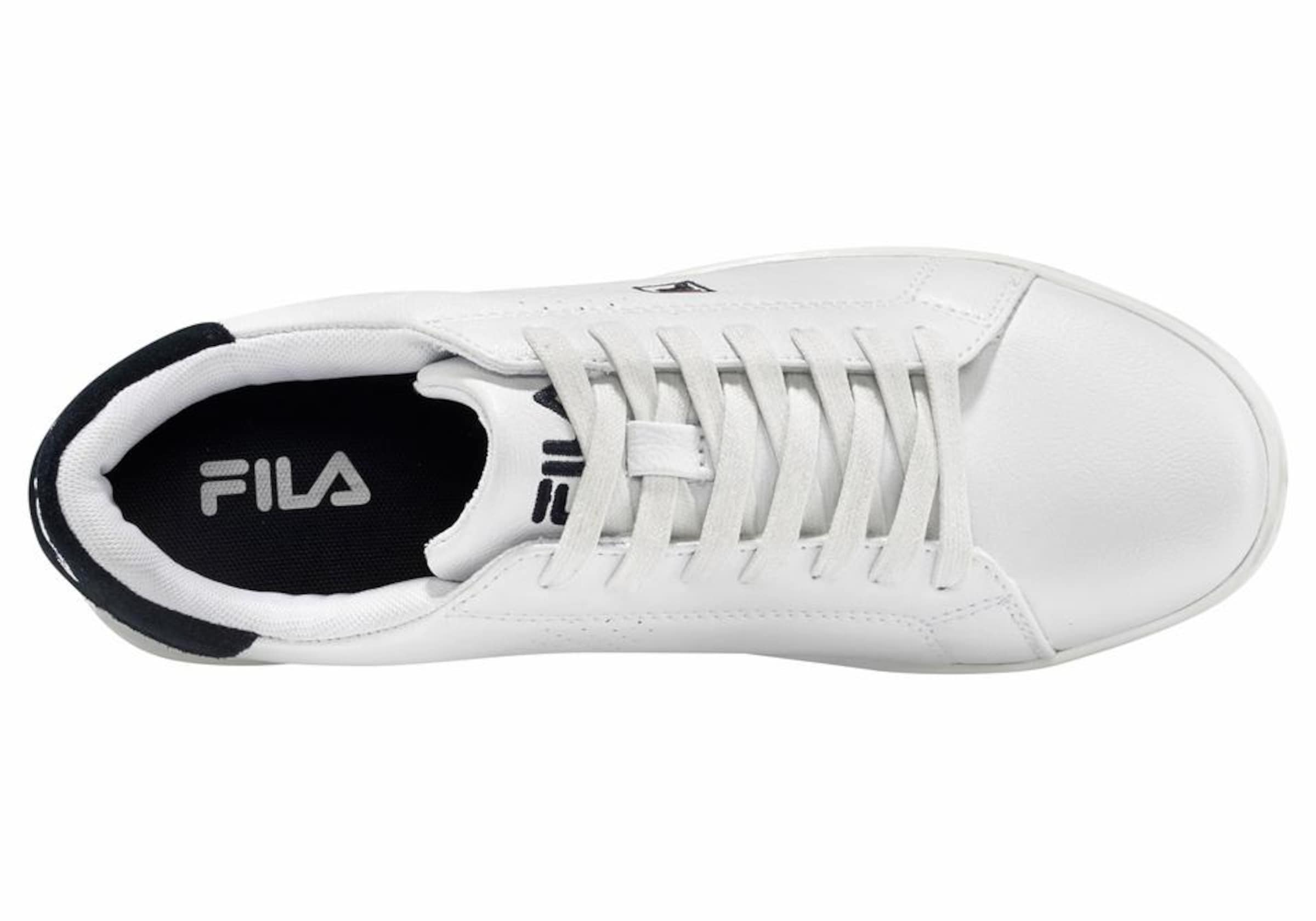 SchwarzWeiß F 2 'crosscourt In Sneaker Fila Low' 80vmNnw