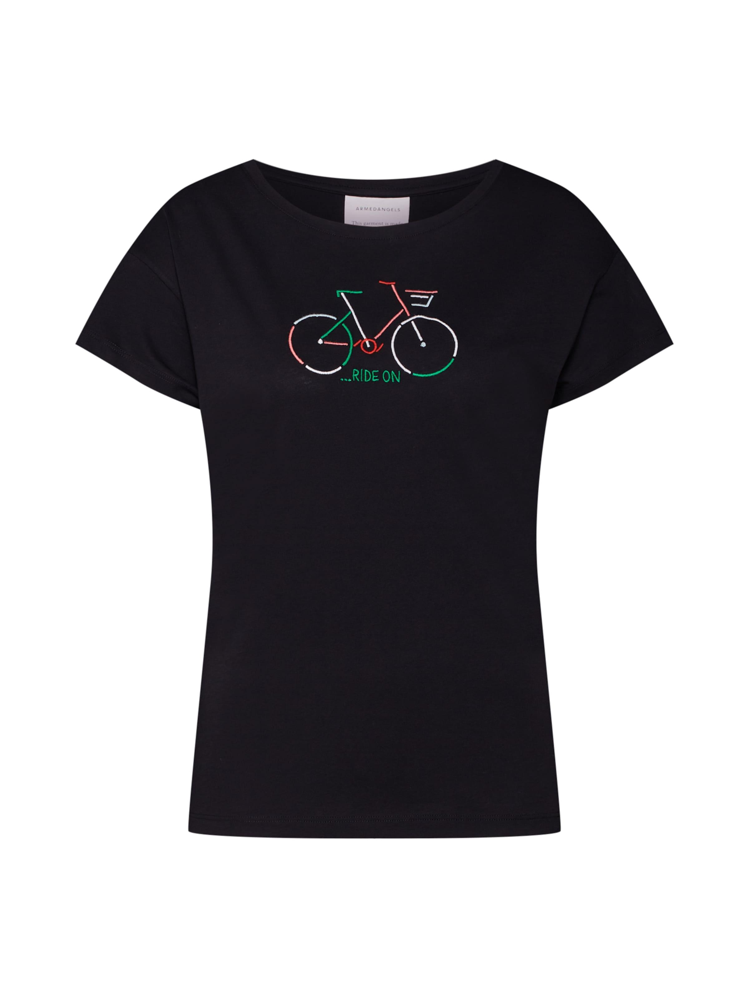 In ArmedangelsT shirt Bike' Noir 'nelaa XZukPi