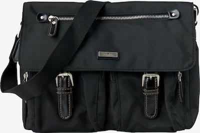 TOM TAILOR Tasche in schwarz: Frontalansicht