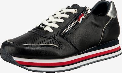 TOM TAILOR Sneaker in kobaltblau / silber, Produktansicht