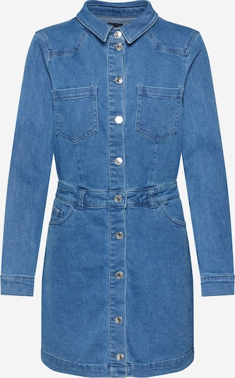 Rochie tip bluză ONLY pe denim albastru, Vizualizare produs