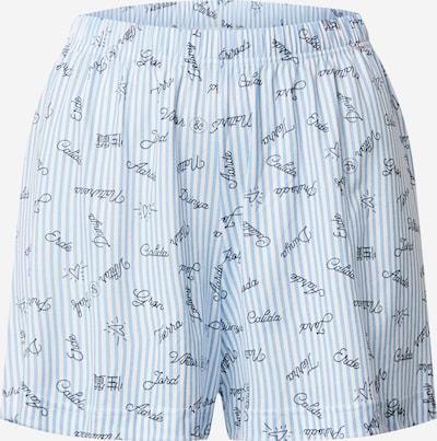 CALIDA Shorts 'Viktor & Rolf' in hellblau / weiß, Produktansicht