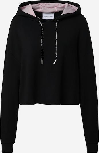 THE KOOPLES SPORT Sweater majica u pastelno roza / crna, Pregled proizvoda