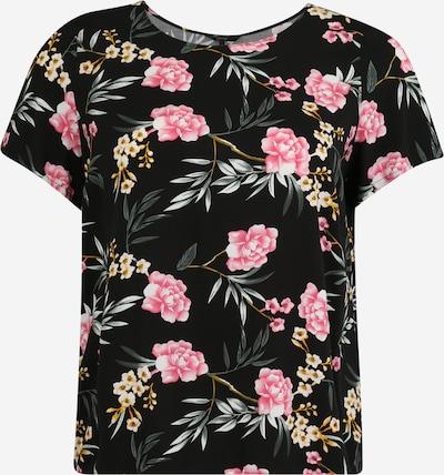 Vero Moda Curve Shirt in rosa / schwarz, Produktansicht