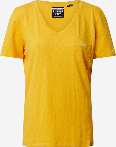 Superdry Shirt 'OL ESSENTIAL' in de kleur Geel, Productweergave