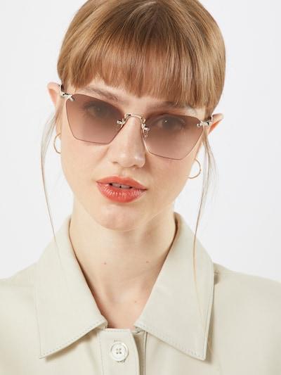 LE SPECS Okulary przeciwsłoneczne 'PIT STOP' w kolorze różanym, Podgląd na modelu(-ce)