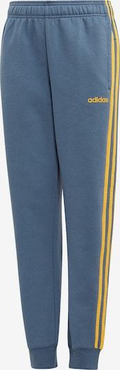 ADIDAS PERFORMANCE Jogginghose 'YB E 3S PT' in taubenblau / gelb, Produktansicht
