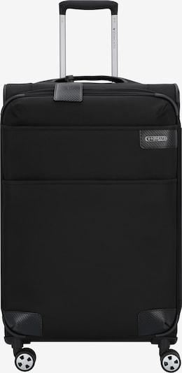 Roncato 4-Rollen Trolley 'Uno Soft Deluxe' in schwarz, Produktansicht
