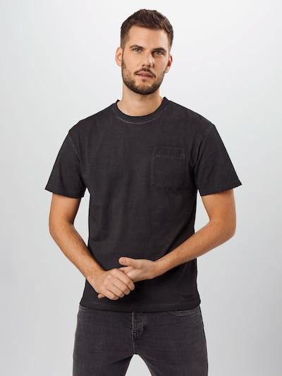 tigha Shirt 'Alessio' in schwarz, Modelansicht