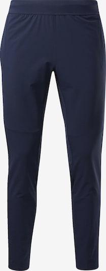REEBOK Sportbroek in de kleur Nachtblauw, Productweergave