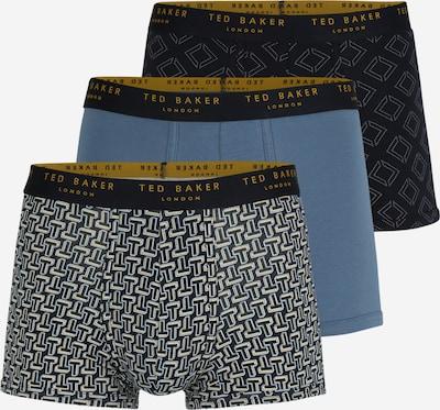 Ted Baker Boxershorts in kobaltblau / hellblau / gelb / weiß, Produktansicht