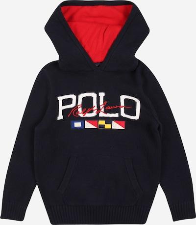 POLO RALPH LAUREN Sweat en bleu marine / rouge / blanc, Vue avec produit