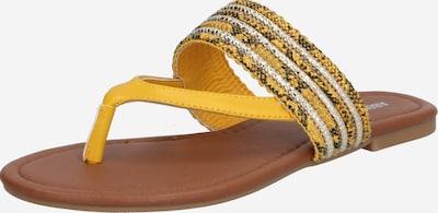 Flip-flops 'Natalie' ABOUT YOU pe galben / culori mixte, Vizualizare produs