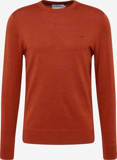 Calvin Klein Pullover 'SUPERIOR WOOL CREW NECK SWEATER' in rot, Produktansicht