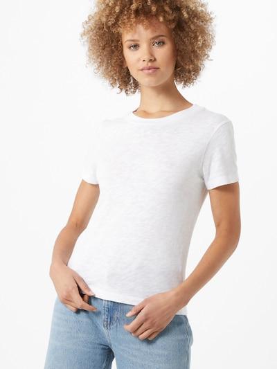 AMERICAN VINTAGE T-shirt 'Sonoma' en blanc, Vue avec modèle