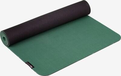 YOGISTAR.COM Yogamatte Pure Eco in grün / schwarz, Produktansicht