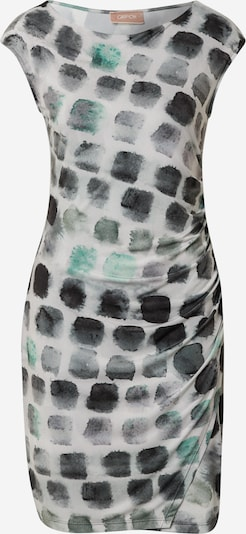 Cartoon Kleid in beige / grau / dunkelgrün, Produktansicht