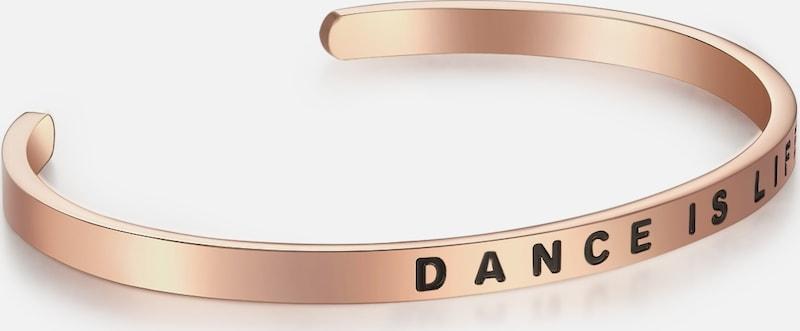 Nahla Jewels Armband mit DANCE IS LIFE-Schriftzug