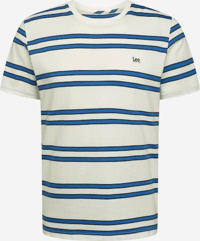 Lee Shirt in ecru / blau / schwarz, Produktansicht