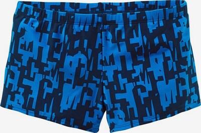 CHIEMSEE Boxerbadehose in blau / schwarz, Produktansicht