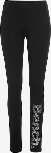 BENCH Leggings in grau / schwarz, Produktansicht