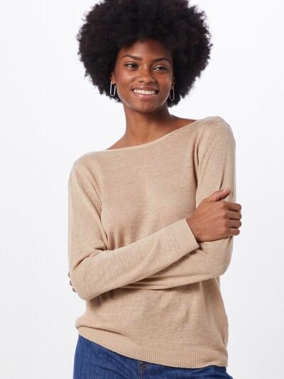 VILA Pullover 'VIFILAK' in beige, Modelansicht
