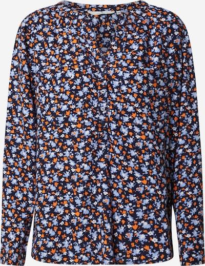 TOM TAILOR Bluse 'Blouse Printed' in nachtblau / mischfarben, Produktansicht