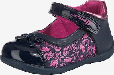 GEOX Ballerinas 'Elthan Girl' in dunkelblau / pink, Produktansicht
