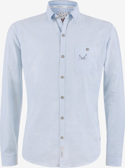 STOCKERPOINT Trachtenhemd 'Calvin' in hellblau, Produktansicht
