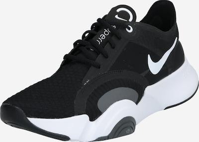 NIKE Chaussure de sport 'SUPERREP GO' en gris / noir / blanc, Vue avec produit
