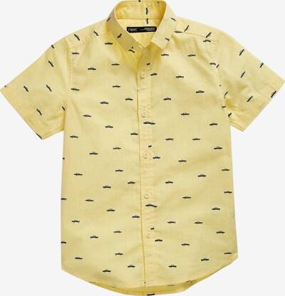 NEXT Kurzarmhemd in gelb / schwarz, Produktansicht