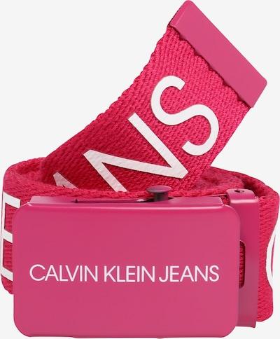 Calvin Klein Jeans Vöö 'CANVAS LOGO BELT' roosa, Tootevaade