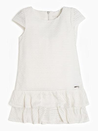 GUESS KIDS Kleid in weiß: Frontalansicht