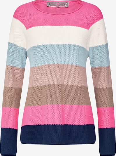 Megztinis 'KleraL' iš LIEBLINGSSTÜCK , spalva - šviesiai mėlyna / rožinė / balta: Vaizdas iš priekio