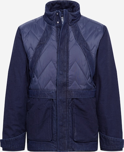 Levi's Made & Crafted Tussenjas 'MOUNTAIN' in de kleur Navy, Productweergave