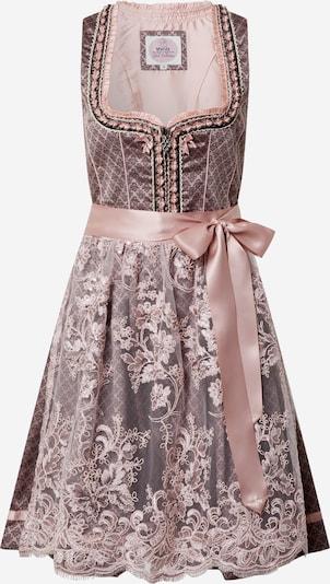 MARJO Kleid '013 Mendita 58' in altrosa / schwarz / weiß, Produktansicht
